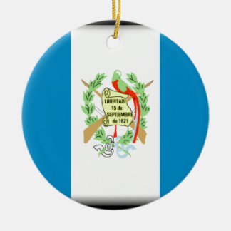 Guatemala Flag Ornaments