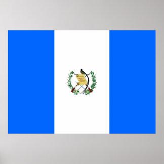 Guatemala Flag Poster
