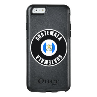 Guatemala Flag Simple OtterBox iPhone 6/6s Case