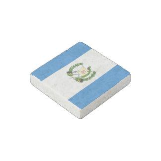 Guatemala Flag Stone Magnet