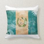 Guatemala Flag Throw Pillows
