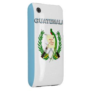 Guatemala Case-Mate iPhone 3 Funda