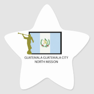 GUATEMALA GUATEMALA CITY NORTH MISSION LDS CTR STICKER