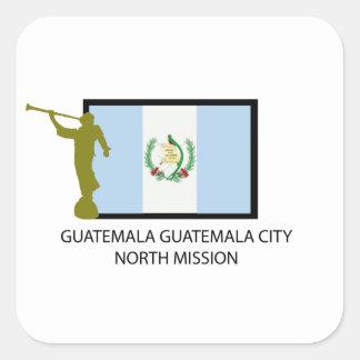 GUATEMALA GUATEMALA CITY NORTH MISSION LDS CTR SQUARE STICKERS