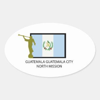 GUATEMALA GUATEMALA CITY NORTH MISSION LDS CTR OVAL STICKERS