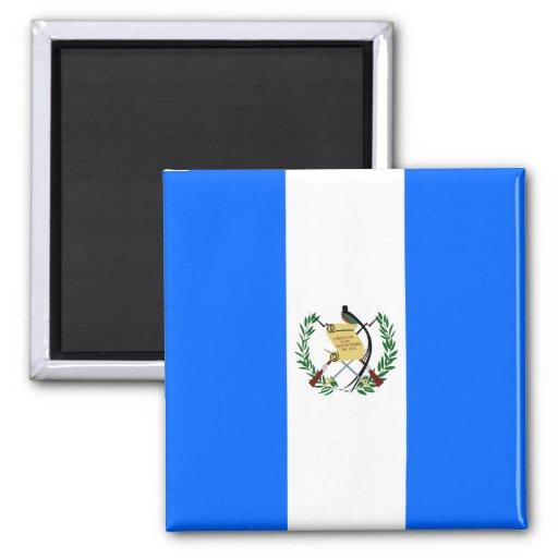 Guatemala High quality Flag 2 Inch Square Magnet