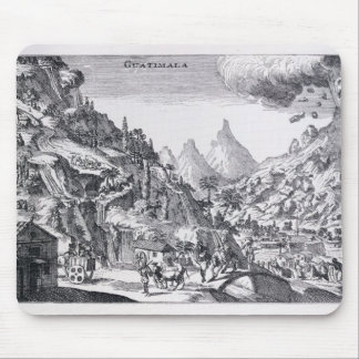 Guatemala', in Spanish North America Mouse Pad