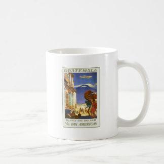 Guatemala Is Only One Day Away Via Pan American Classic White Coffee Mug