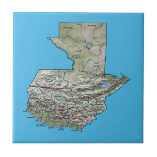 Guatemala Map Tile