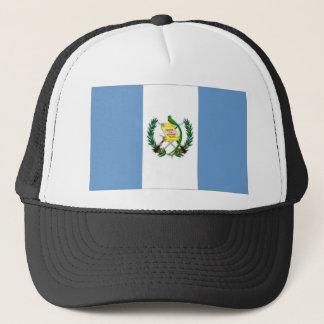 Guatemala National Flag and Naval Ensign Trucker Hat