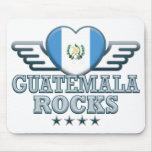 Guatemala oscila v2 alfombrillas de ratón