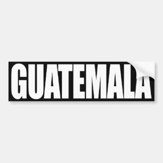 Guatemala Pegatina Para Auto