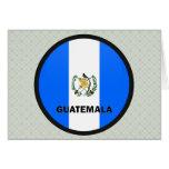 Guatemala Roundel quality Flag Cards