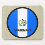 Guatemala Roundel quality Flag Mouse Pad