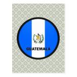 Guatemala Roundel quality Flag Postcard