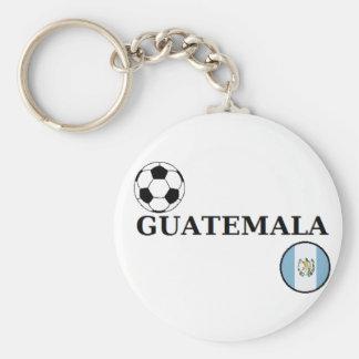 Guatemala Scoccer Keychain