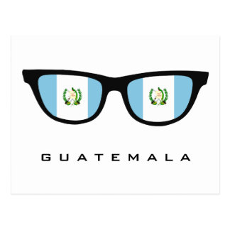 Guatemala Shades custom text & color postcard