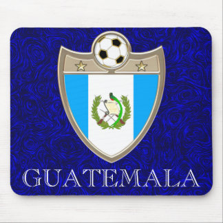 Guatemala Soccer Mouse Pads