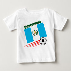 Guatemala Soccer Team Baby T-shirt at Zazzle