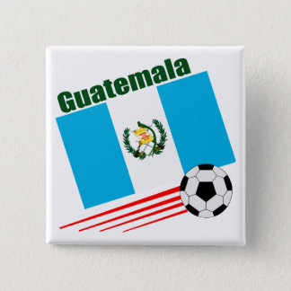 Guatemala Soccer Team Button
