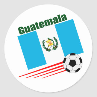 Guatemala Soccer Team Classic Round Sticker
