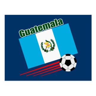 Guatemala Soccer Team Postcard