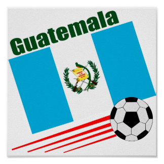 Guatemala Soccer Team Poster