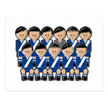 Guatemala soccer team tarjeta postal