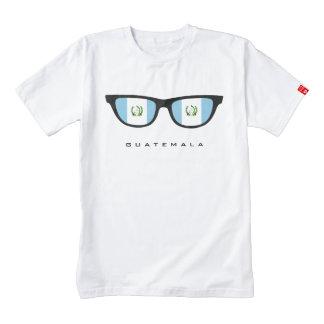 Guatemala sombrea la camiseta de encargo playera zazzle HEART