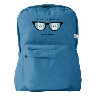 Guatemala sombrea las mochilas de encargo mochila