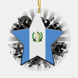 Guatemala Star Christmas Tree Ornaments