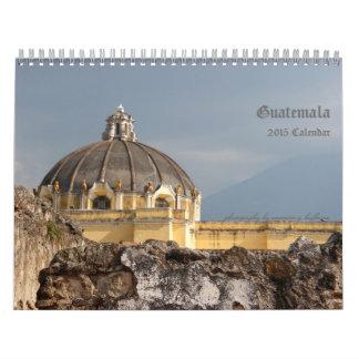 Guatemala Travel Photography Calendar