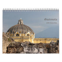 Guatemala Travel Photography Calendar