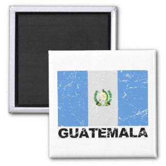 Guatemala Vintage Flag Magnet
