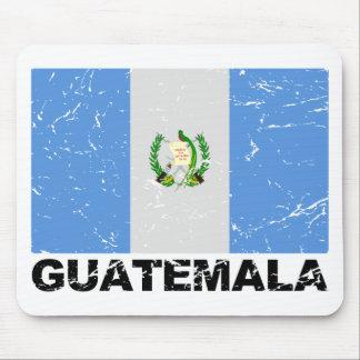 Guatemala Vintage Flag Mouse Pad