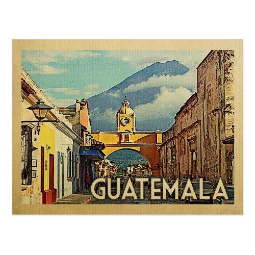 Guatemala Vintage Travel Postcard