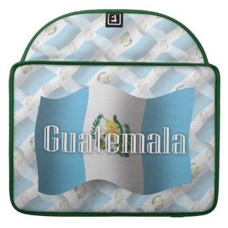 Guatemala Waving Flag Sleeve For MacBook Pro
