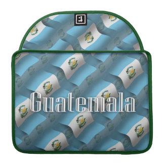 Guatemala Waving Flag MacBook Pro Sleeve