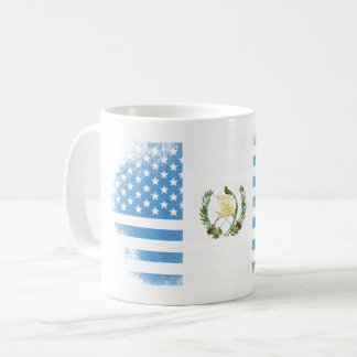 Guatemalan American Flag   Guatemala and USA Coffee Mug