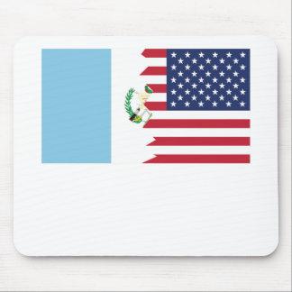 Guatemalan American Flag Mouse Pad