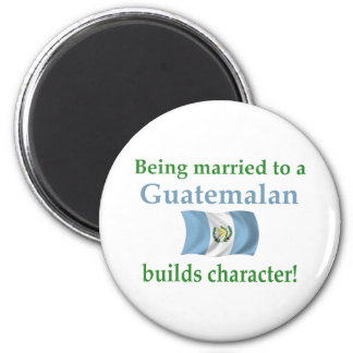 Guatemalan Builds Character Magnet