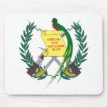 Guatemalan Coat of Arms Mousepad