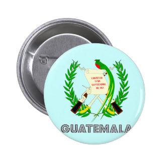Guatemalan Emblem Pinback Button
