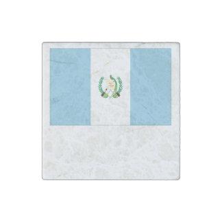 Guatemalan Flag Stone Magnet