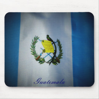 Guatemalan Flag with Quetzal Mouse Pad