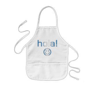 Guatemalan Gifts : Hello / Hola + Smiley Face Kids' Apron