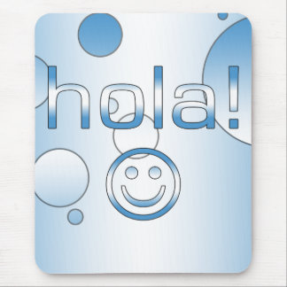 Guatemalan Gifts : Hello / Hola + Smiley Face Mouse Pad