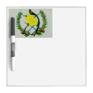 Guatemalan National Symbol Dry Erase Board