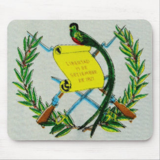 Guatemalan National Symbol with Quetzal Mouse Pad
