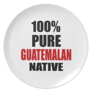 GUATEMALAN NATIVE MELAMINE PLATE